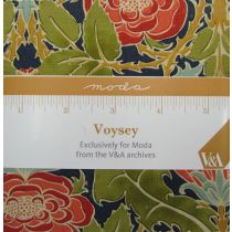 Voysey Charm Pack- Exclusively for Moda Fabrics from the V&A archives