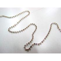 Silver Rhinestone Chain