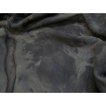 Tye Dye Chiffon- Black