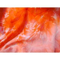 Tye Dye Chiffon- Red