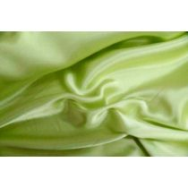 Charmeuse Satin- Pine Lime