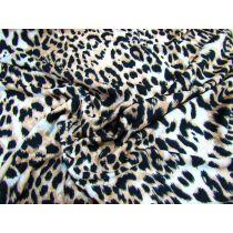 Luxe Leopard Print Jersey