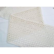 Sun Child 20cm Soft Cotton Blend Lace- Cream