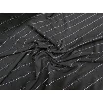 Black Pinstripe ITY Jersey