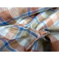 Baby Check Wool Flannel