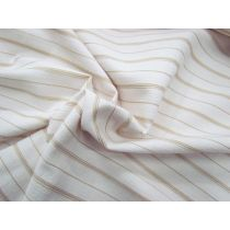 70's Sand Stripe Cotton Bengaline