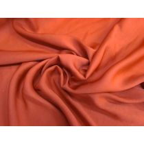 Peachskin Satin Chiffon- Tobasco