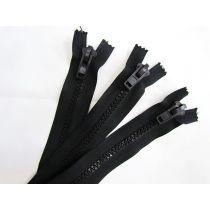 Zipper Bundle- Super Chunky Closed End- 28cm Black- 3 for $5