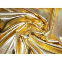 Disco Gold Foile Satin