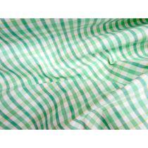 Green Gables Check Cotton