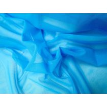 2way Stretch Mesh- Block Blue