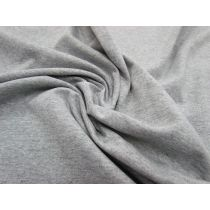 Mid-Weight Cotton Jersey- Grey Marle #991