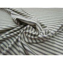 Triple Stripe Light Knit Jersey- Natural Beige