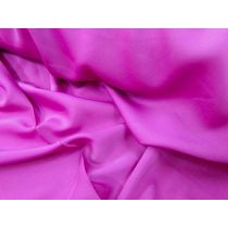 Stretch Satin Chiffon- Thai Pink