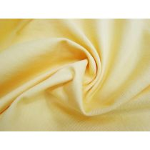 Washed Look Cotton Drill- Butter Yellow
