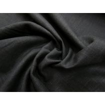 Linen Cotton Blend- BB Black