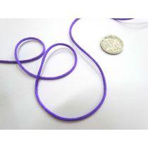 Rat Tail Ribbon- Purple