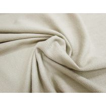 Textured Weave Cotton- Light Taupe