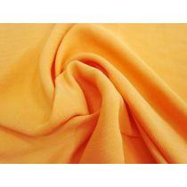 Satin Back Crepe- Sweet Orange