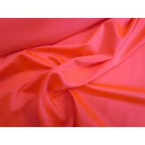 Shiny Spandex- Fluro Red