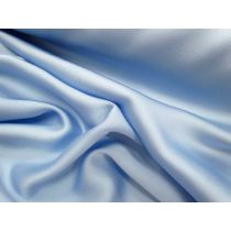 Lightweight Satin- Wedgewood Blue