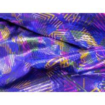 Linear Fog Finish Lycra- Violet