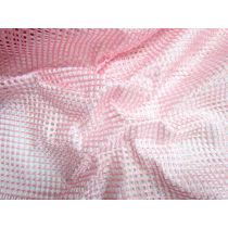 Bonded Mesh- Baby Pink