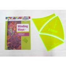 Winding Ways Patchwork Template Set