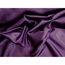 Stretch Charmeuse Satin- Princess Purple