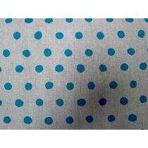 Echino Standard Spot- Blue on Grey