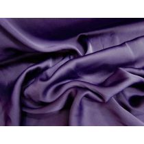 Lightweight Stretch Satin- Rich Purple