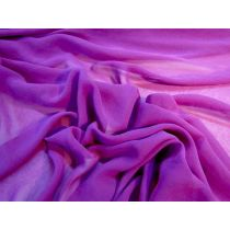 Designer Chiffon- Paintbox Purple