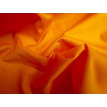 Fine Cotton Drill- Vibrant Orange