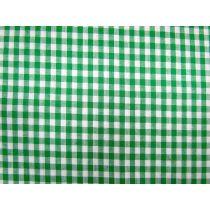 5mm Gingham- Green