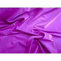 Shiny Spandex Jersey- Magenta