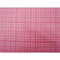Palette Pleasure- Check- Raspberry