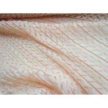Feather Pleated Lace- Apricot