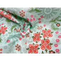 Garden Girl Floral Cotton