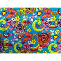 Candy Skulls Cotton