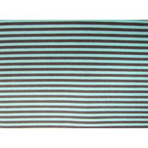 A Day In The Country- Festival Stripe- Chocolate/Blue
