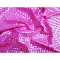 Pearl Mermaid Foile Spandex- Pink