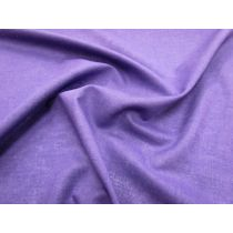 Italian Linen With Reversible Foile- Purple