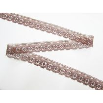 Chocolate Frosting Lace Trim