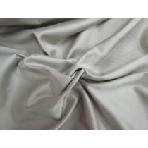 Cotton Blend Sateen- Harbour Grey