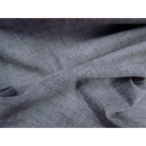 Linen Look Cotton- Black