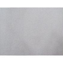 Micro Check- Medium Grey