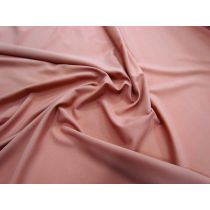 Stretch Matte Faille- Peony peach