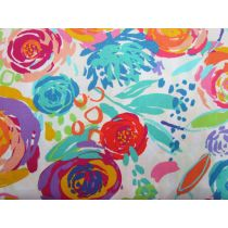 Painted Garden #10- White- M411810-11