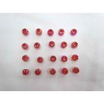 Pink Iridescent Beads
