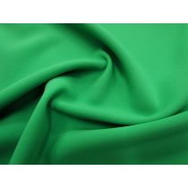 Bonded Stretch Crepe- Kelly Green